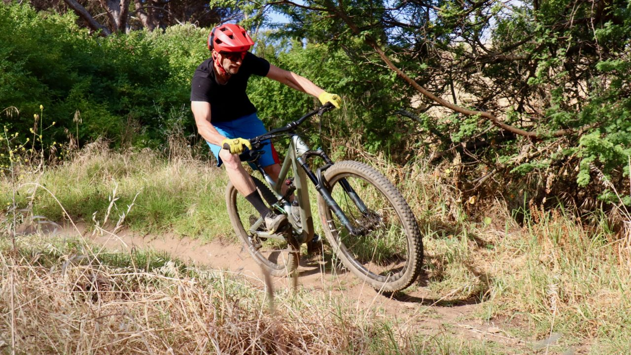 Cannondale Habit mountain bike review for the bike network test with myles kelsey in south africa.