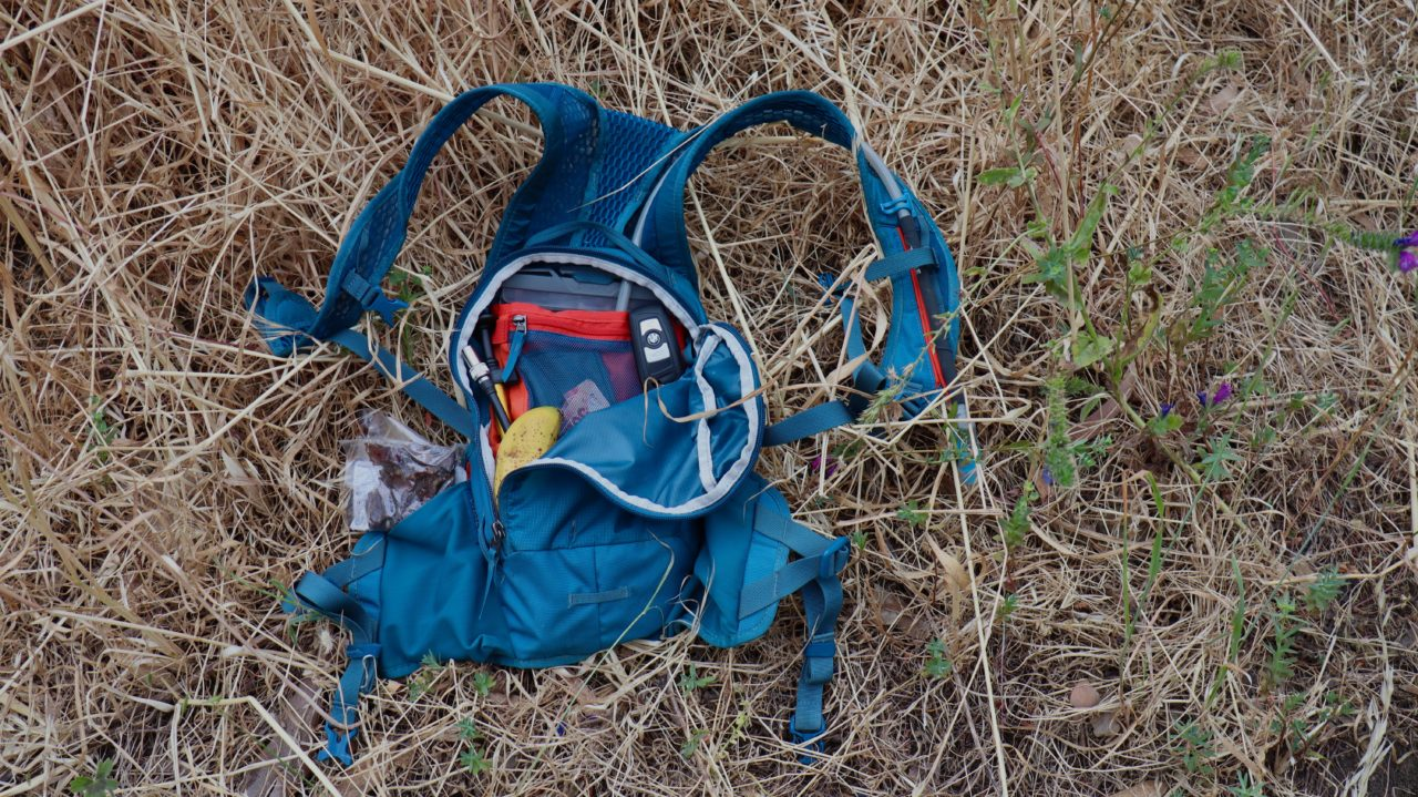 Thule vital 3L hydration pack tested by myles kelsey for bike network