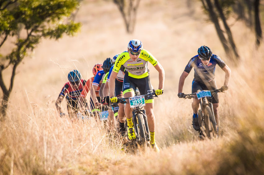 Pieter du Toit in the FNB Magalies Monster, 2019.