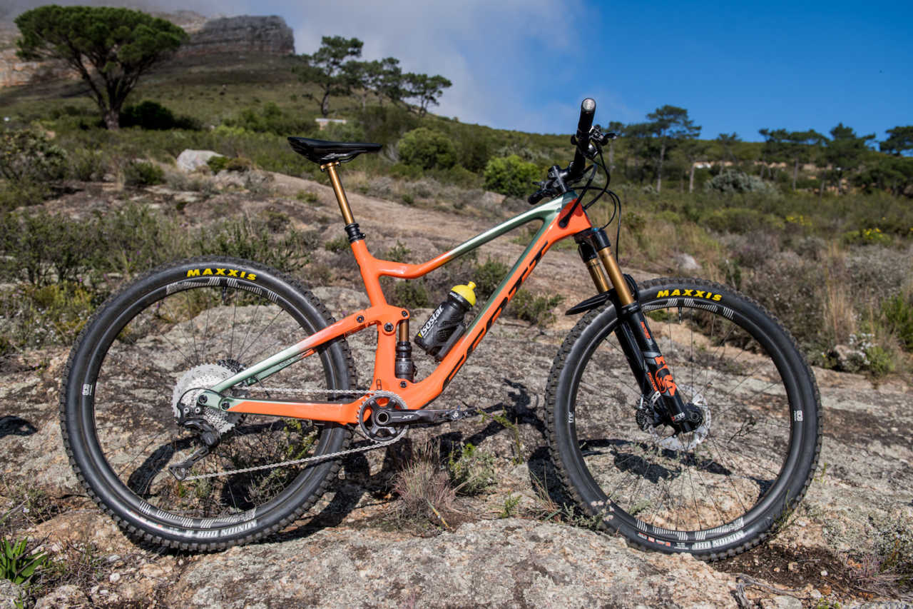 Scott Genius mountain bike review by Myles Kelsey for Bike Network in Cape Town South Africa.