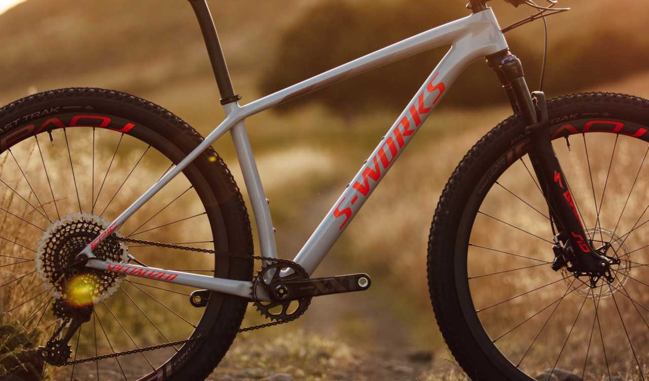 New Specialized Epic hardtail mountain bike.
