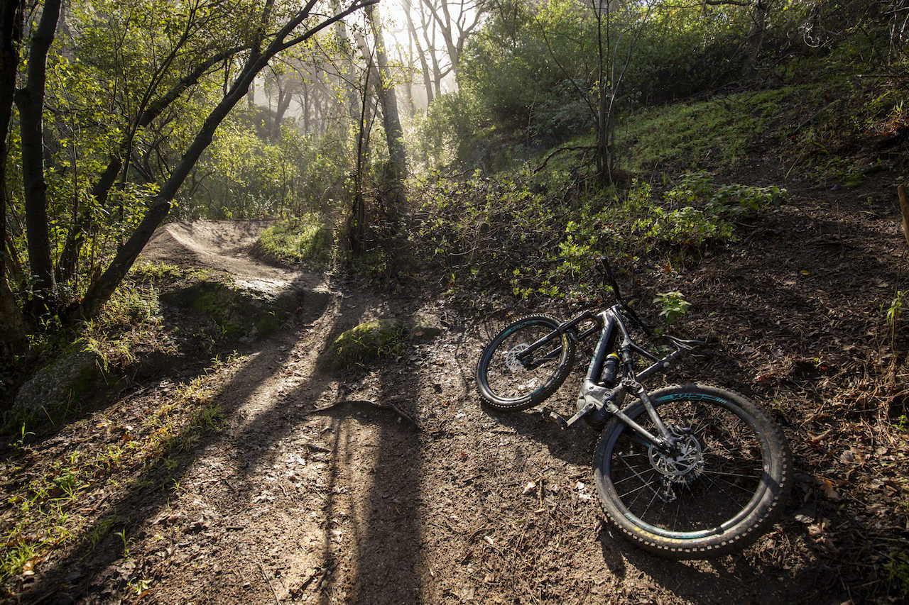 THE GLEN, Cape Town - during a photoshoot for Myles Kelsey of BikeNetwork. Photo by Gary Perkin