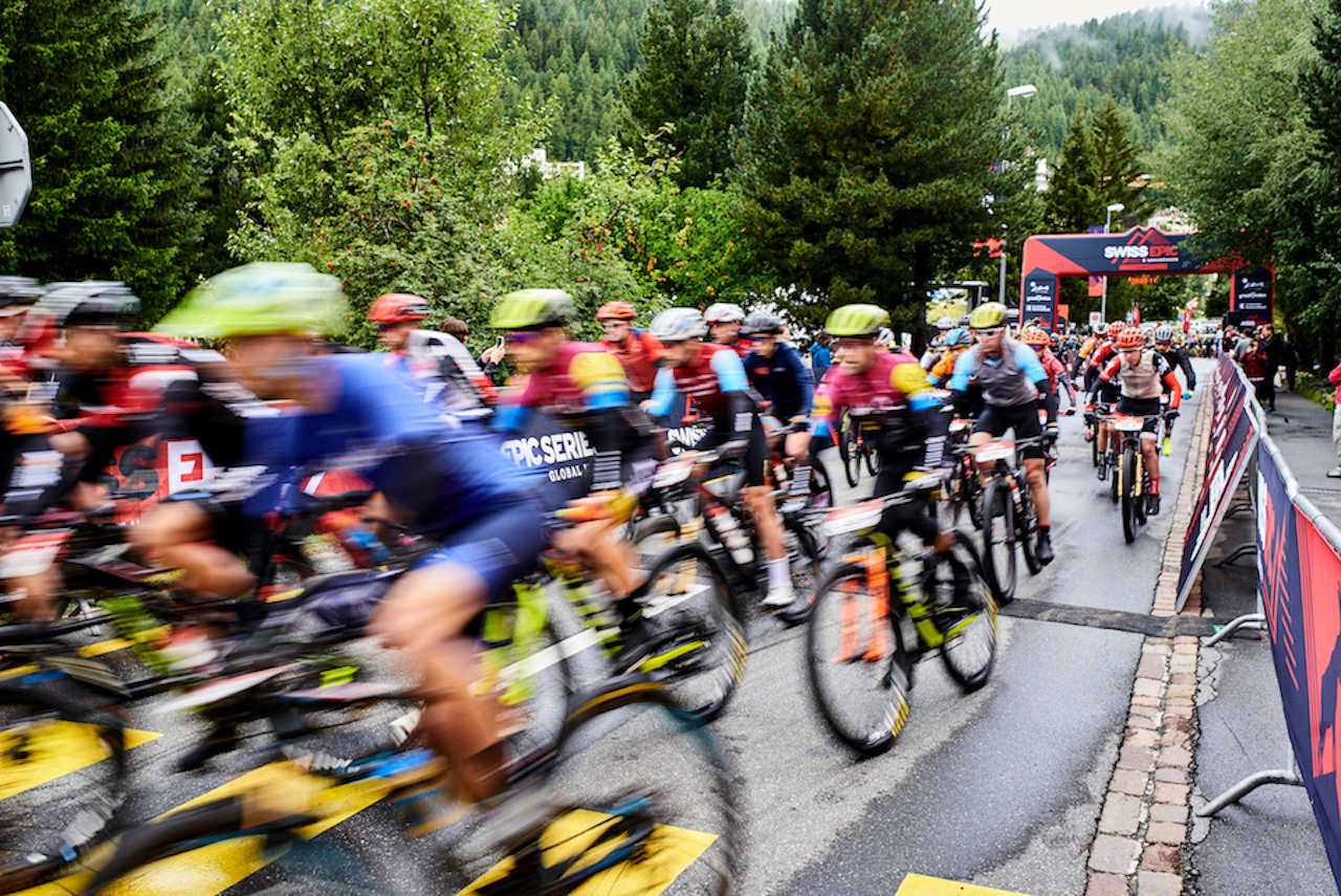 During Stage 2 of the 2019 Swiss Epic from St Moritz to St Moritz, Graubünden, Switzerland on 21 August 2019. Photo by Marius Holler