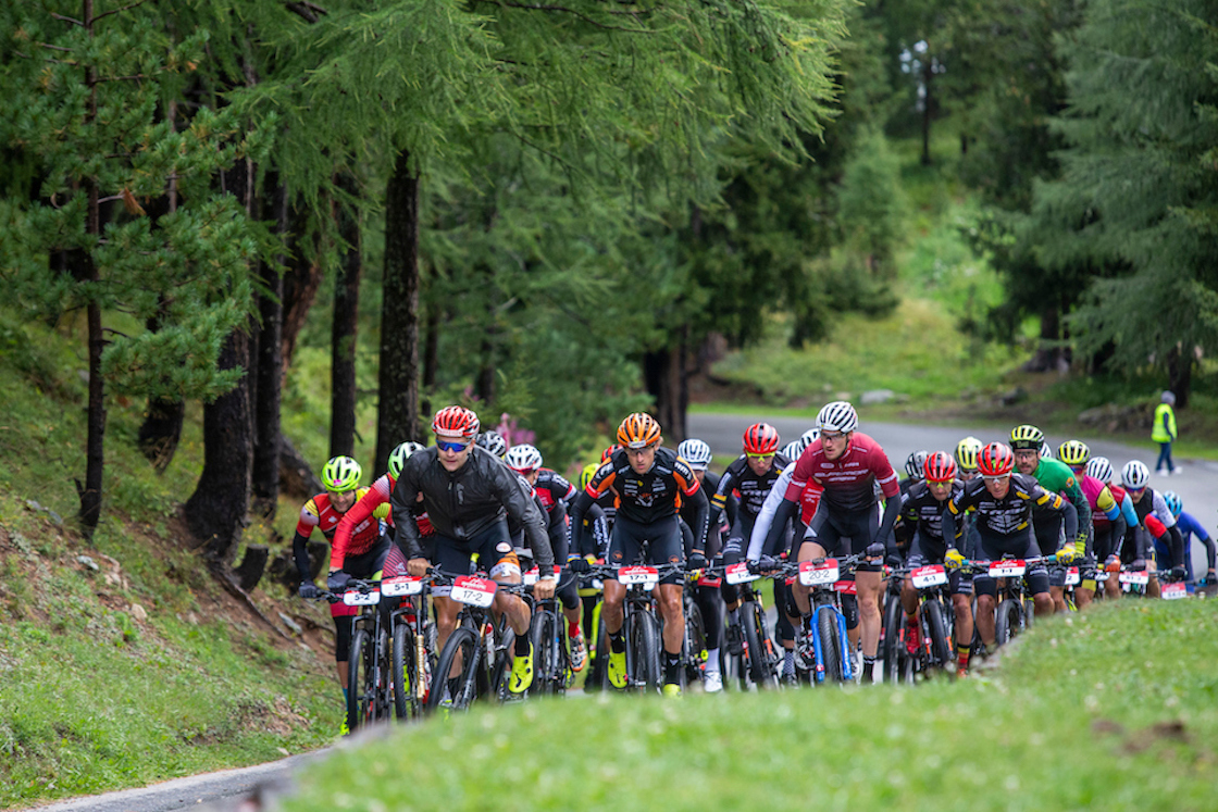 UCI Men and Woman during Stage 2 of the 2019 Swiss Epic from St Moritz to St Moritz, Graubünden, Switzerland on 21 August 2019. Photo by Sam Clark.