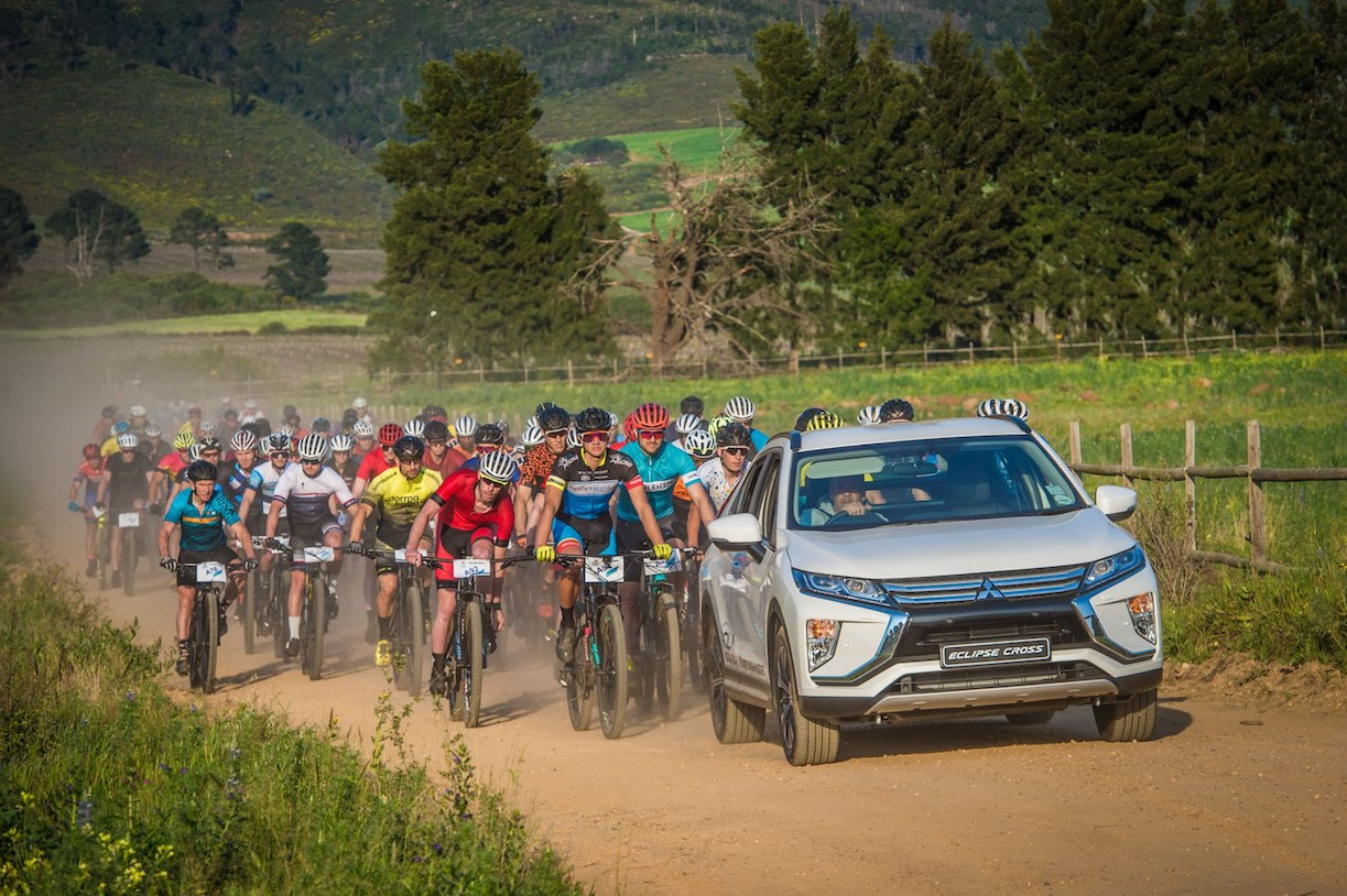 Riders in action at the 5th annual Fedhealth MTB Challenge in Stellenbosch on 8 September 2019.