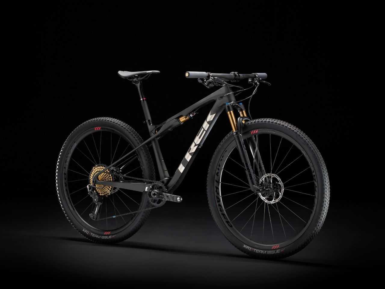 The 2020 Trek Supercaliber cross country race bike.