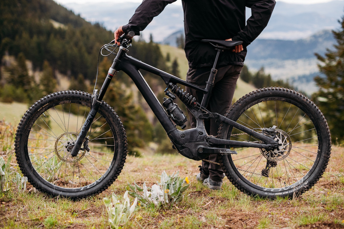 The new Specialized Turbo Kenevo at Kamloops in British Columbia, Canada shot by Harookz for Specialized in September 2019.