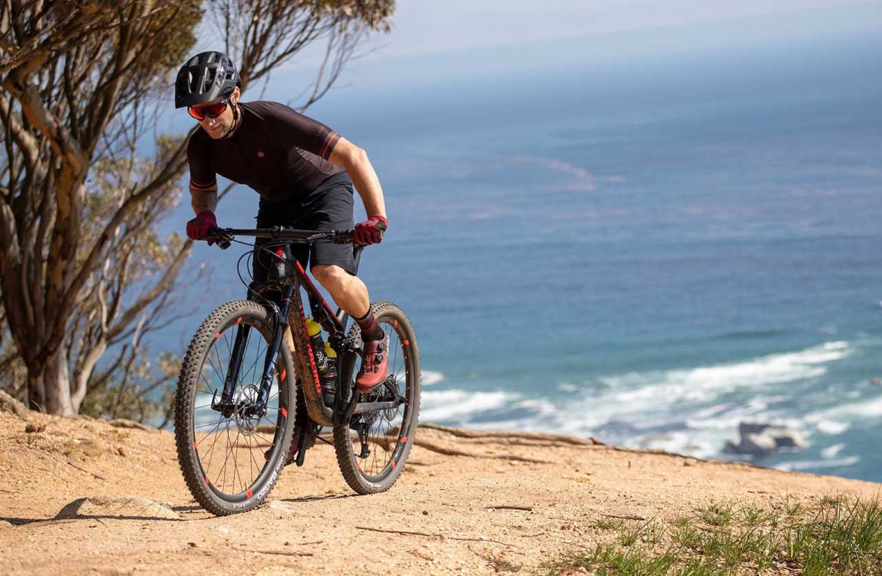 A Bike Network editorial shoot with Titan Racing Cyper RS by Gary Perkin and Myles Kelsey on Lions Head in Cape Town, South Africa on 17 September 2019.