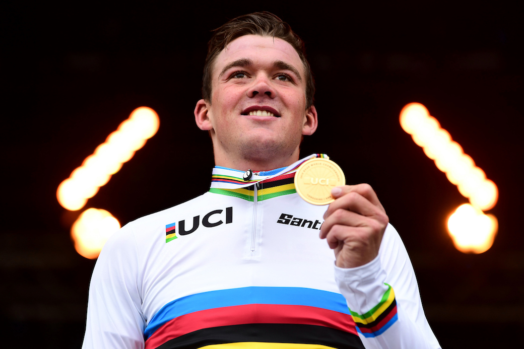 UCI Road  Cycling World Championships in Yorkshire England on the 29th of September 2019 in the mens road race.