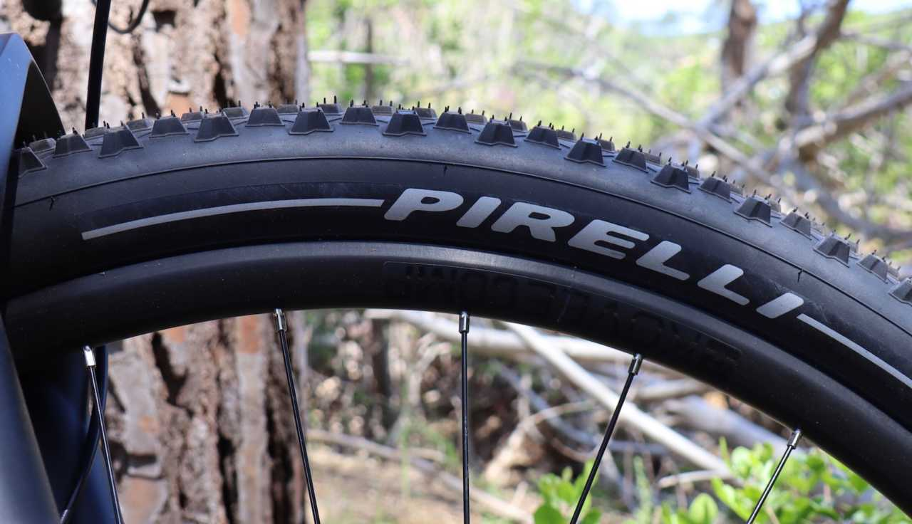 Pirelli Scorpion mountain bike tyre shot on location for Bike Network in South Africa with Myles Kelsey.