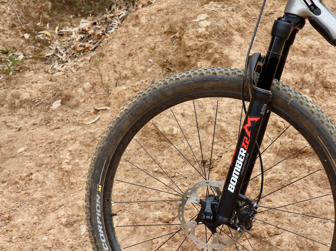Marzocchi Z2 Bomber fork tested by Myles Kelsey for Bike Network on 29 October 2019 in Cape Town South Africa.