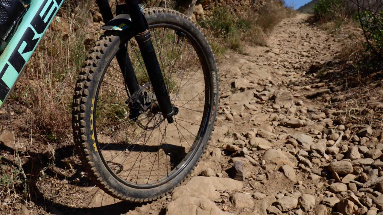 Myles Kelsey and Bike Network testing the new ZIPP 3ZERO MOTO wheels on Signal Hill in Cape Town on 20 October 2019.