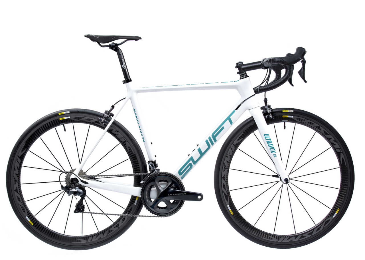 SwiftCarbon Ultravox designed in memory of Jonathan Cantwell.