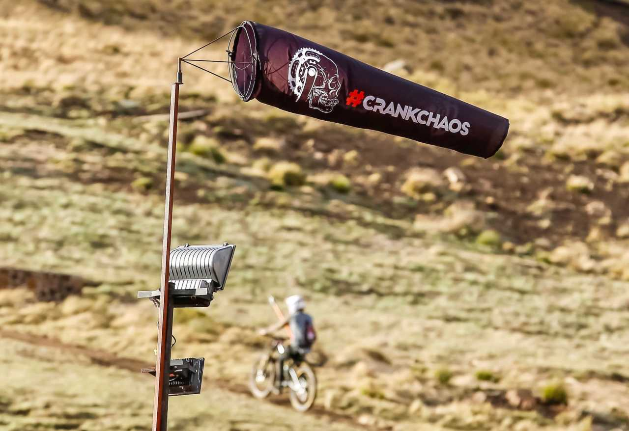 Riders in action at the 2019 crankchaos mountain bike festival in afriski lesotho. Image by dom barnardt for bike network and myles kelsey.
