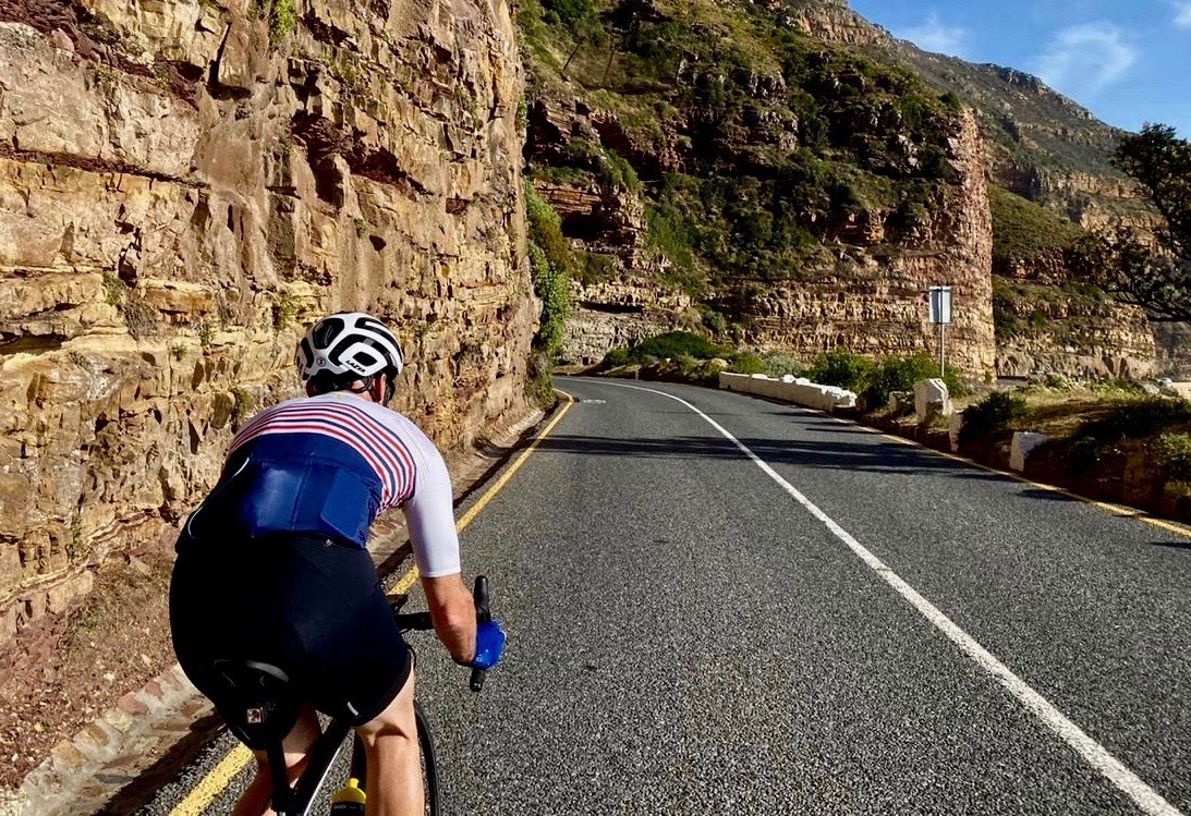 Lazer century helmet tested for bike network by myles kelsey in cape town on the 7th of november 2019.