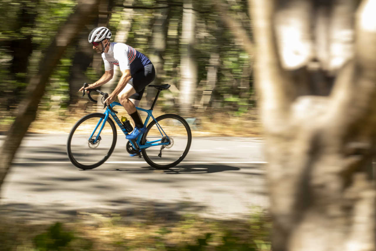 Jonkershoek, Stellenbosch - 4 December - Giant TCR review for Bike Network photoshoot with Myles Kelsey. Photo by Gary Perkin