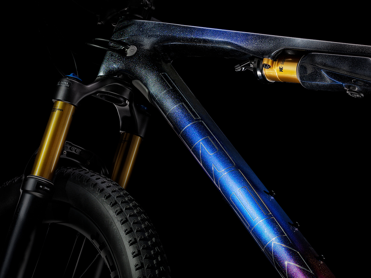 Trek supercaliber cross-country mountain bike in project one.