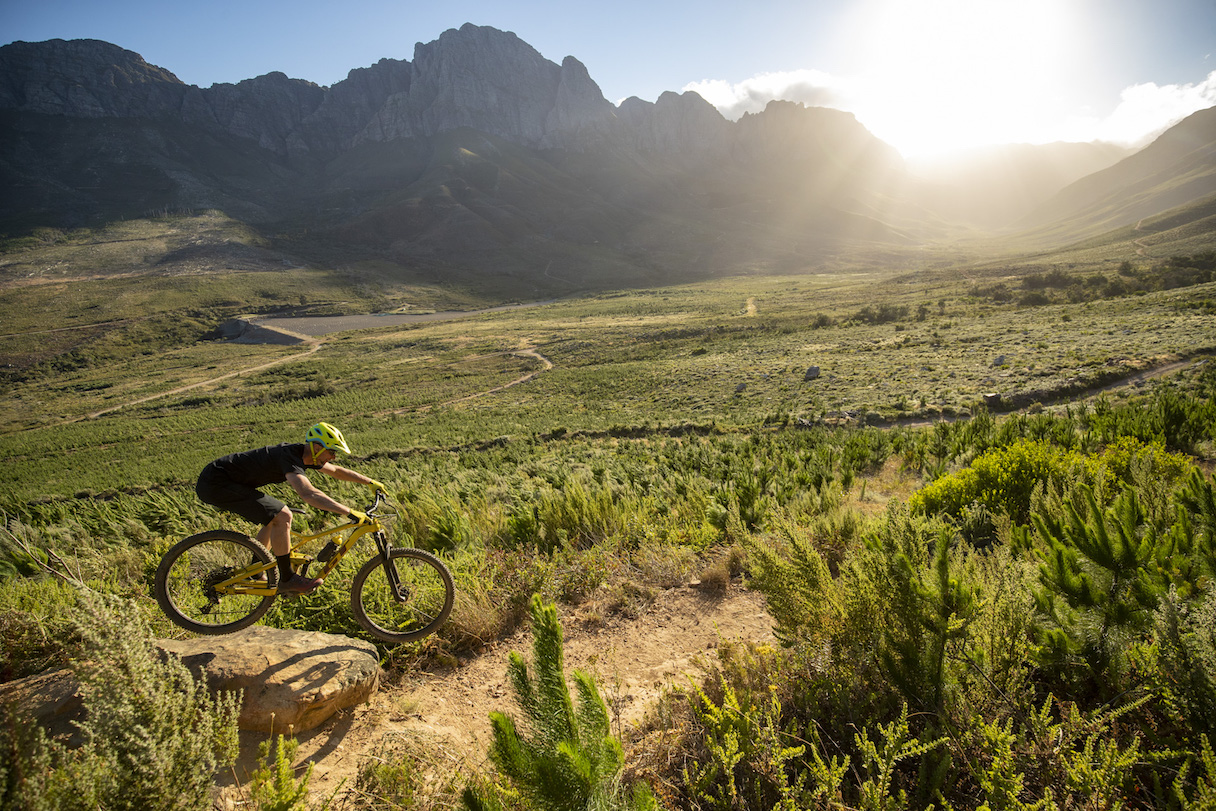 Jonkershoek, Stellenbosch - 4 December - GT Sensor Elite Bike Network photoshoot with Myles Kelsey. Photo by Gary Perkin
