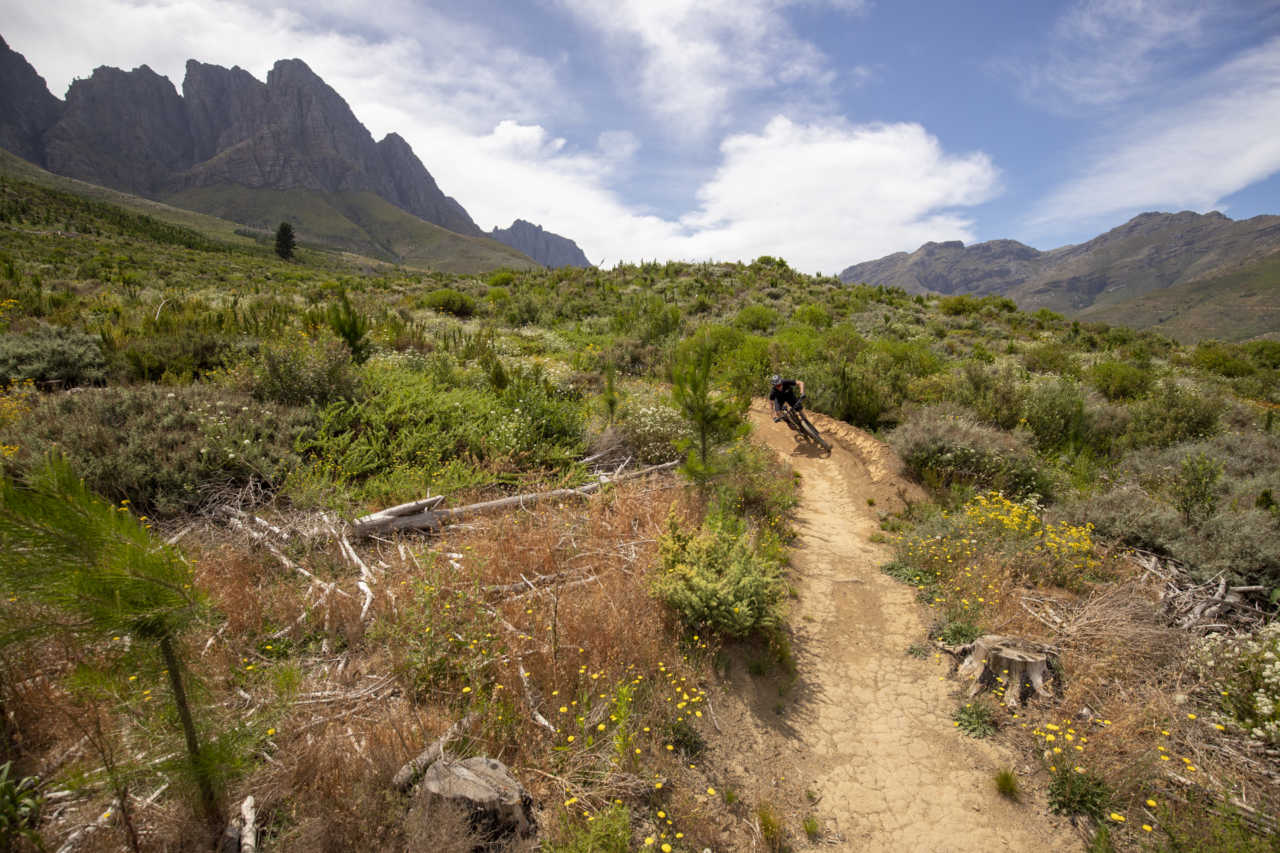 Jonkershoek, Stellenbosch - 20 November - Trek Fuel EX 7 during a Bike Network photoshoot with Myles Kelsey. Photo by Gary Perkin