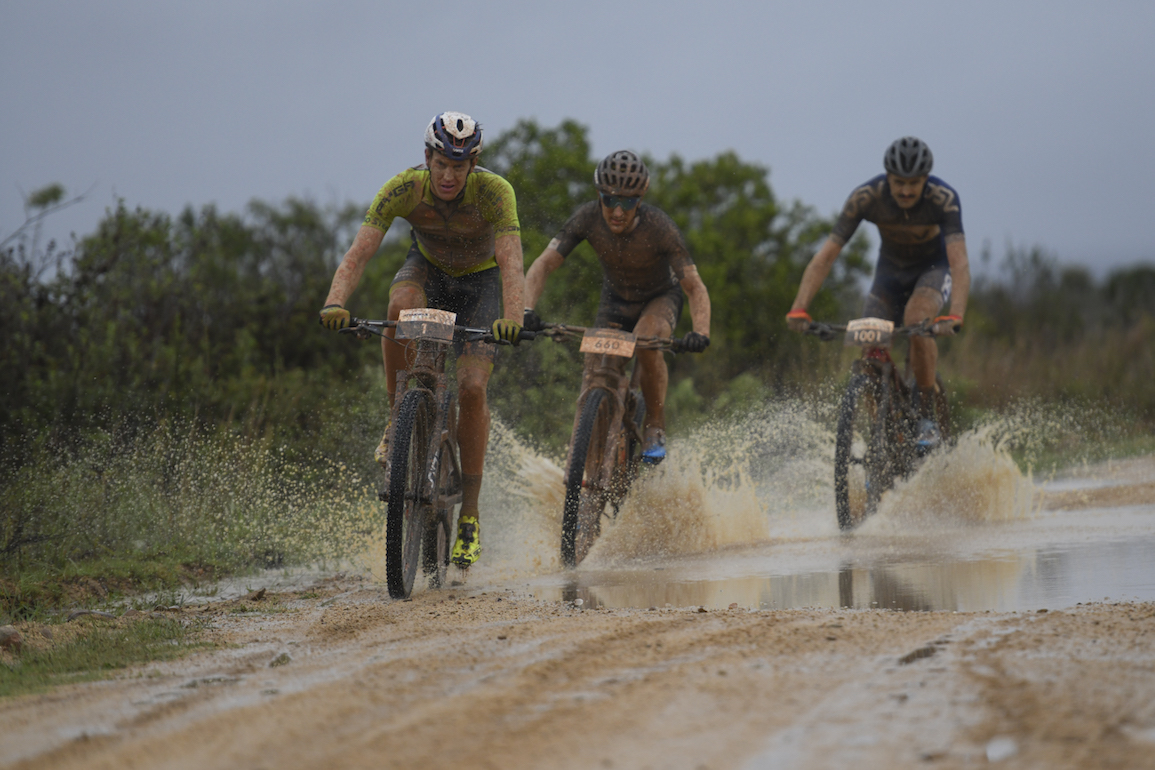 riders in action at the 2020 attakwas extreme mountain bike marathon in south africa