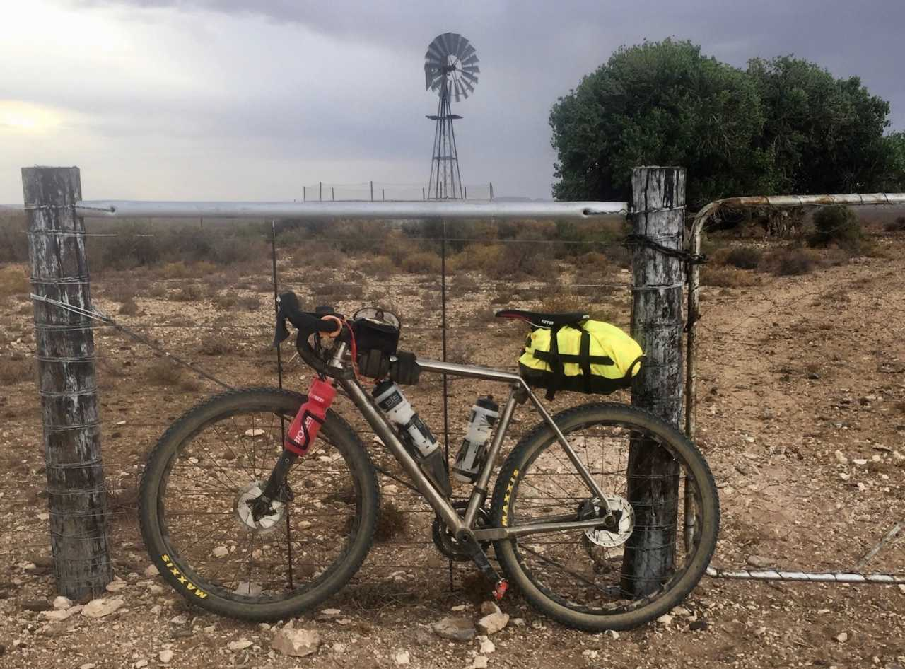Ultra-endurance rider Bryan Allott during the Munga MTB single-stage mountain bike race across South Africa in 2019.