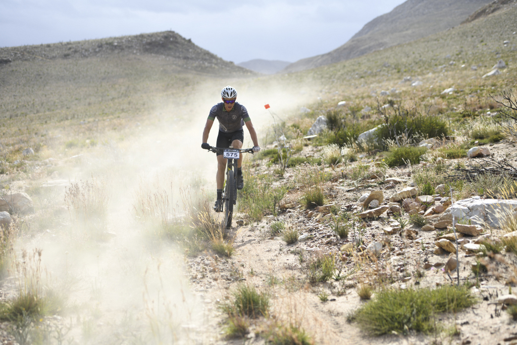 Riders participate at the 2019 Attakwas Extreme mountain bike race.
