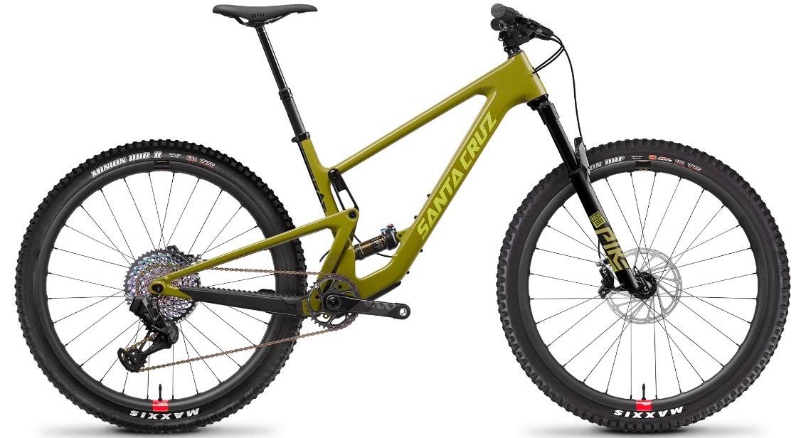 santa cruz tallboy mountain bike