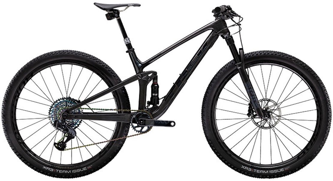 Trek Top Fuel 9.9 xx1 axs as featured in the bike network top 10.