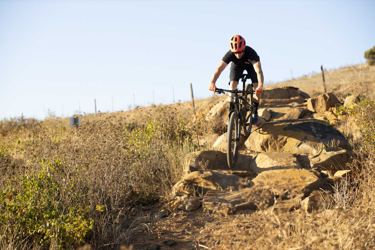 CAPE TOWN - riding the Trek Supercaliber with Myles Kelsey for Bike Network in Bloemendal. Photo by Gary Perkin