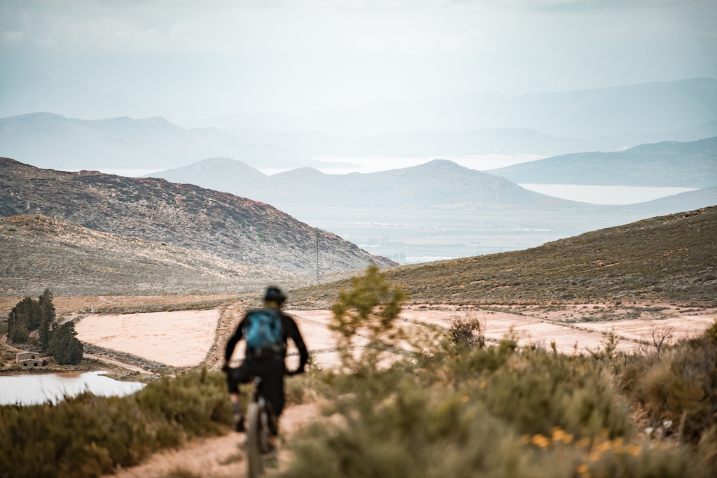 Titan Racing bicycles at a mountain bike stage race the weekend warrior