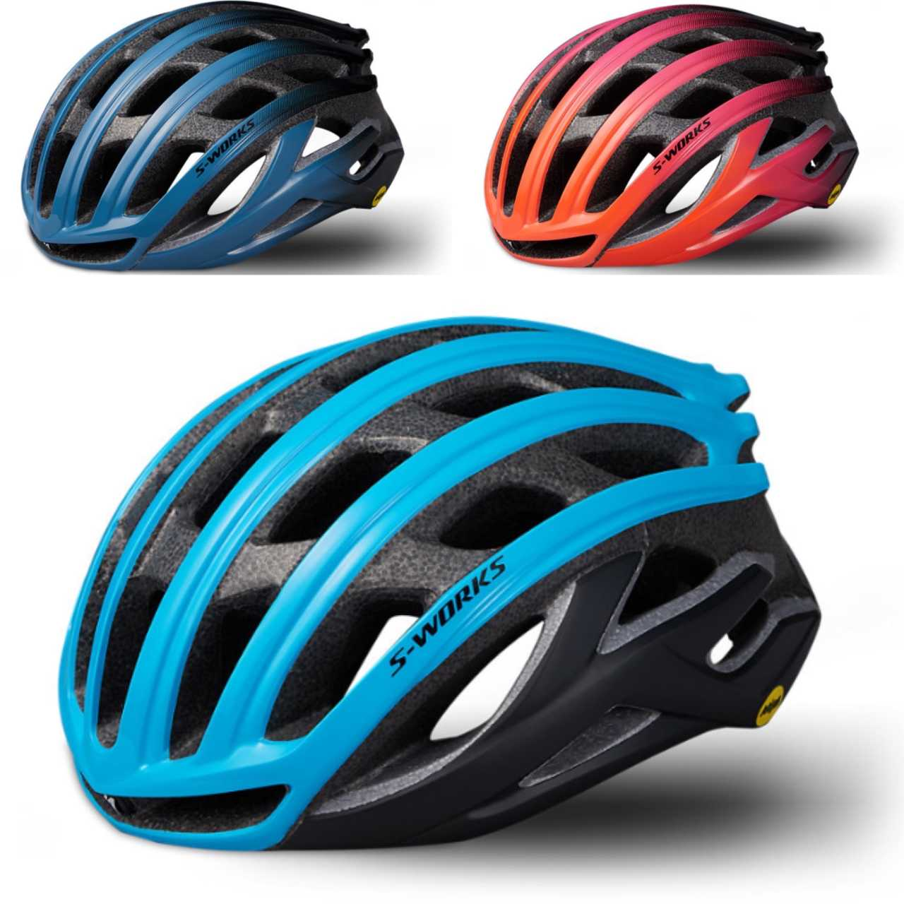 SPECIALIZED S-WORKS PREVAIL 2 MIPS & ANGI equipped cycling helment