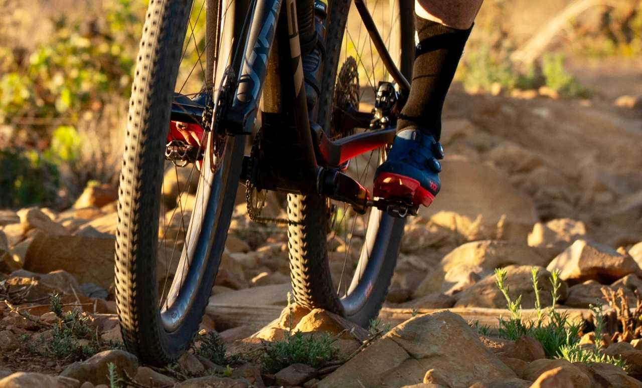 Bontrager XXX Mountain Bike Shoes shot by Gary Perkin for Bike Network in Cape Town South Africa on 6 March 2020