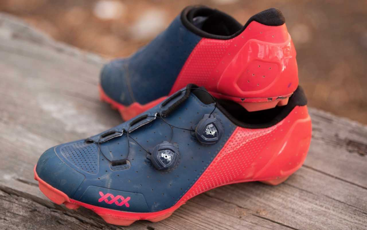 Bontrager XXX Mountain Bike Shoes shot by Gary Perkin for Bike Network in Tokai South Africa on 6 March 2020