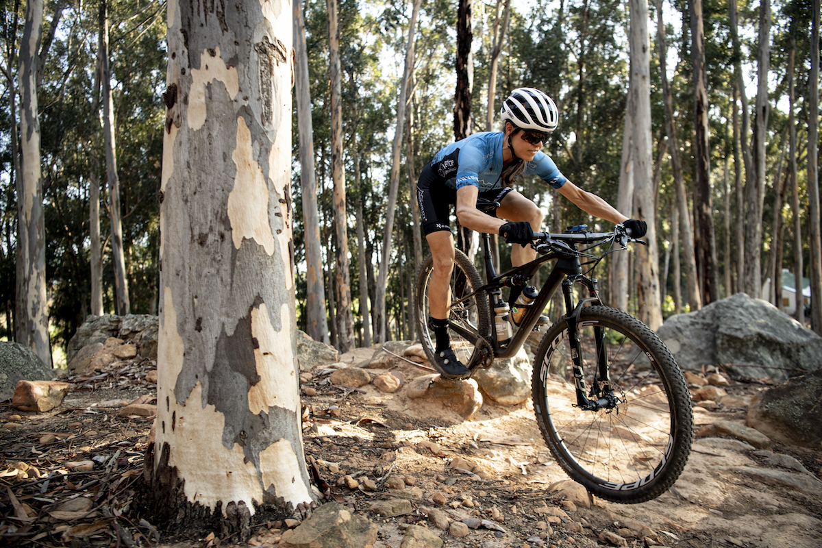 Swiss mountain bike racer Ariane Lüthi as interviewed for Bike Network by Myles Kelsey on 20 April 2020 in South Africa.