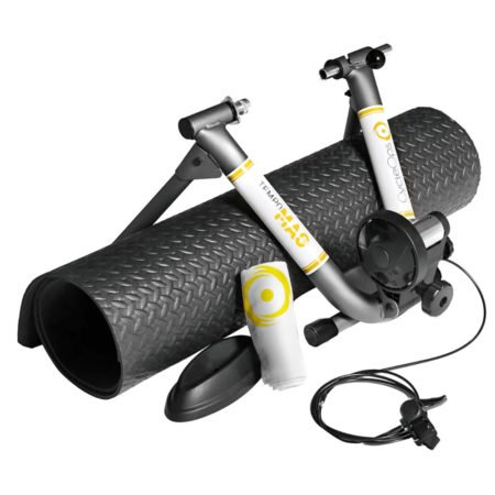 The CycleOps Tempo Mag cycling indoor trainer from the Bicycle Power Trading company