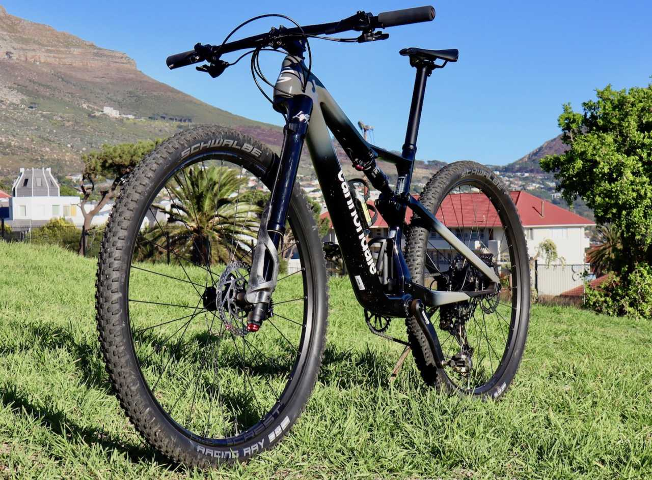The new Cannondale Scalpel mountain bike review as featured in Bike Network and shot in Cape Town South Africa