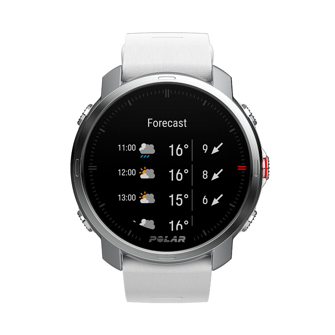 The Polar Grit x smartwatch for mountain biking, running and trail sports.