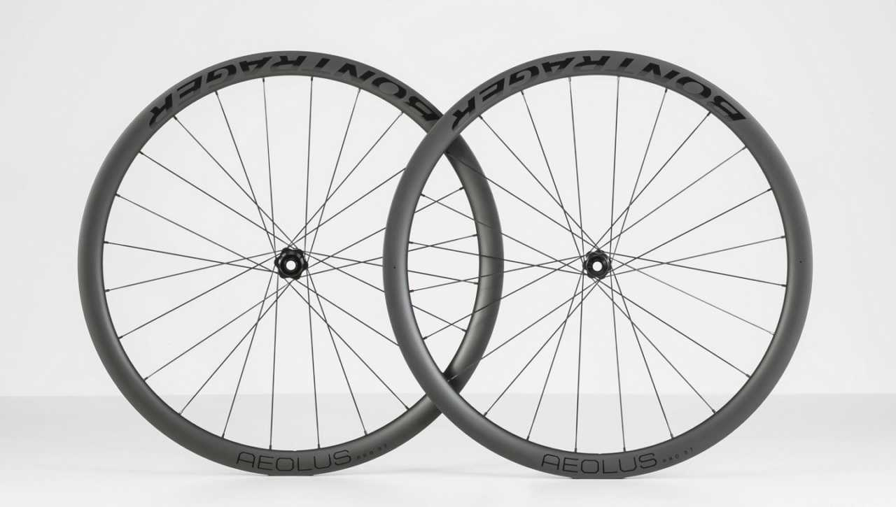Aelous Pro 37 Carbon bicycle wheels from Bontrager