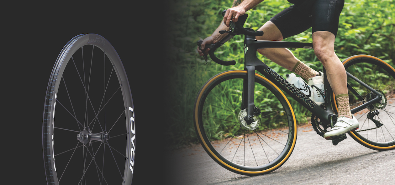 The carbon fiber road bicycle wheel from Specialized called the Roval Alpinist CLX as featured by Bike Network in South Africa.