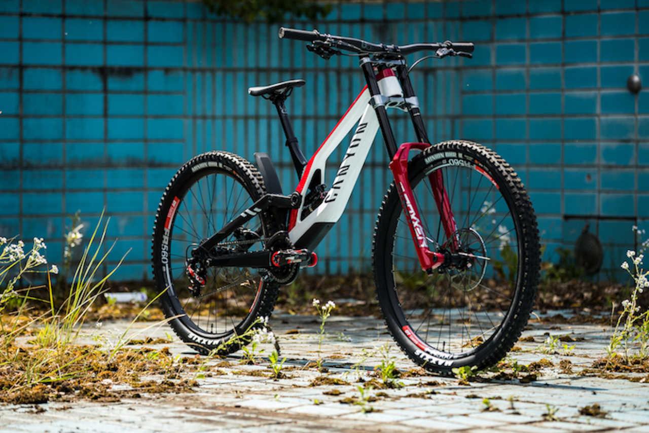 The new Canyon Sender downhill mountain bike