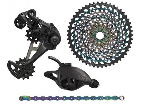 SRAM XX1 Eagle Upgrade Kit - Rainbow edition