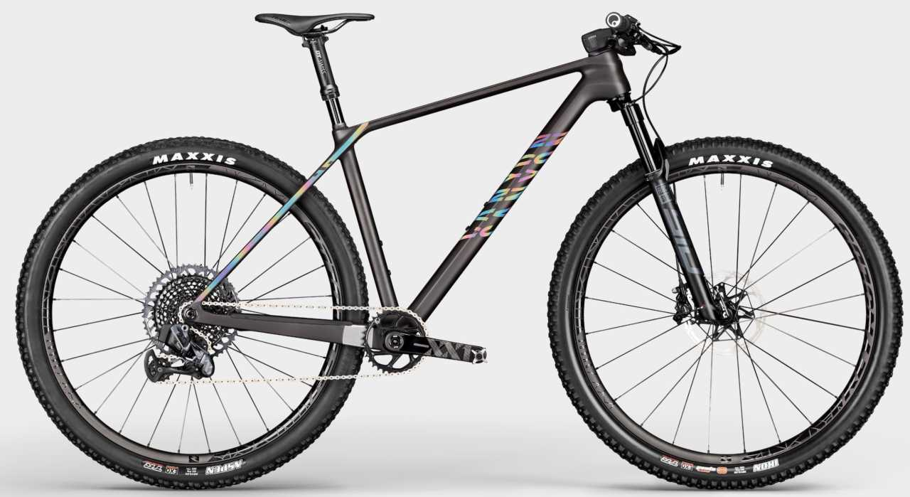 the new Canyon Exceed hardtail mountain bike as featured on Bike Network.