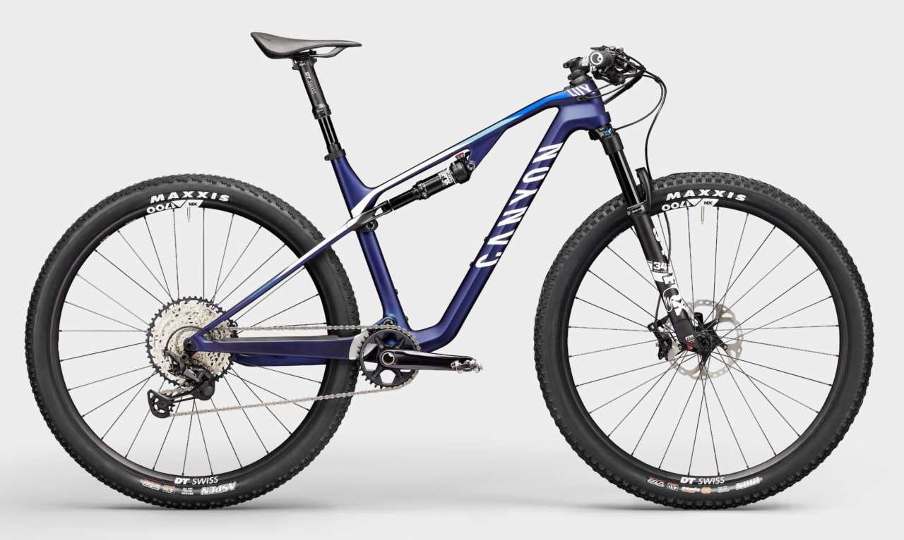 2021 Canyon Lux full suspension carbon fiber mountain bike as featured in Bike Network south africa