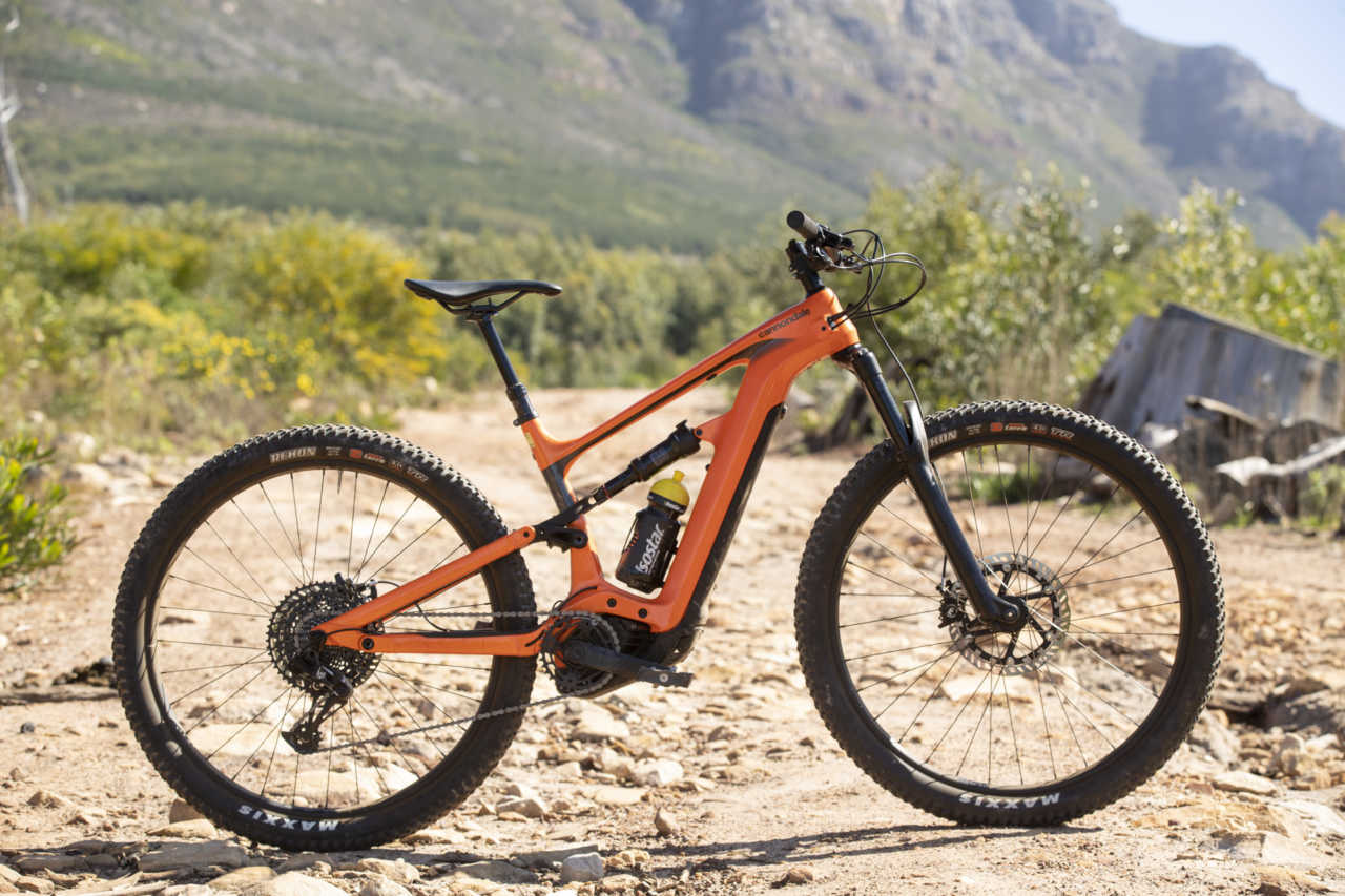 The Cannondale Habit Neo E-Bike for BIKE NETWORK in Cape Town, South Africa with Myles Kelsey and Gary Perkin.