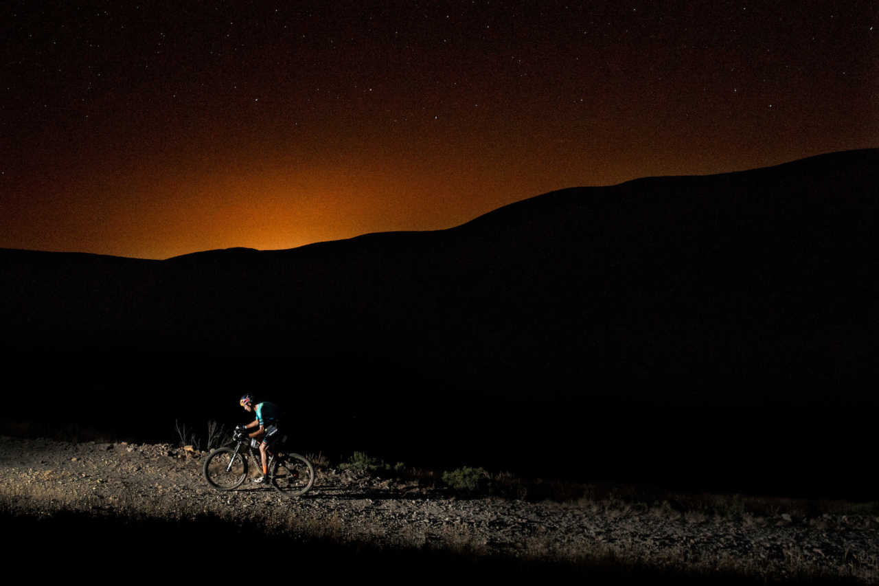 Tiago Ferreira performs during the 24H Climb in Sao Pedro do Sul, Portugal on July 22, 2020