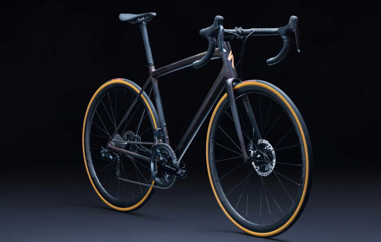The new Specialized S-Works Aethos road bicycle