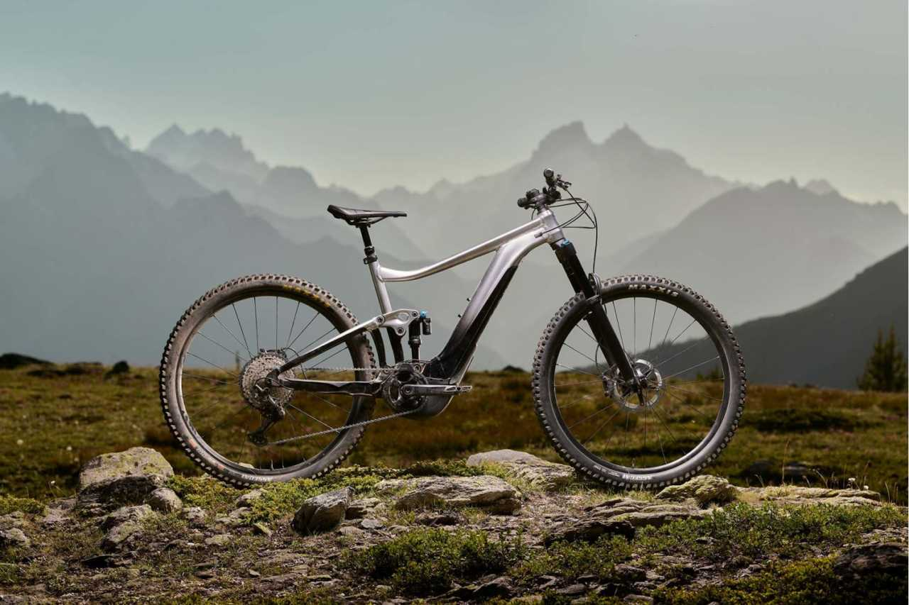 The Giant Trance X E+ Pro 29 electric mountain bike