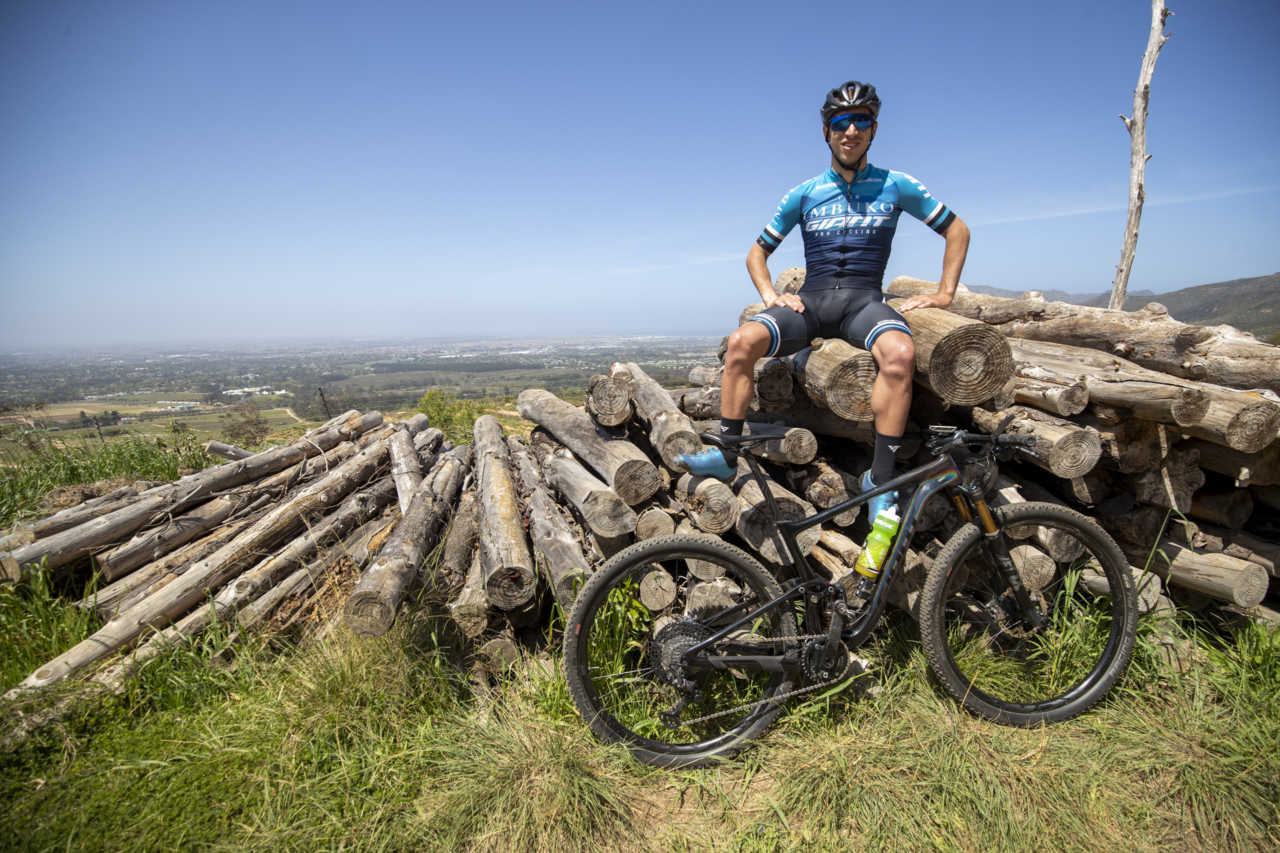 TOKAI - 14 October 2020 - during a Bike Network photo shoot with Nicol Carstens and his Giant Anthem. Photo by Gary Perkin
