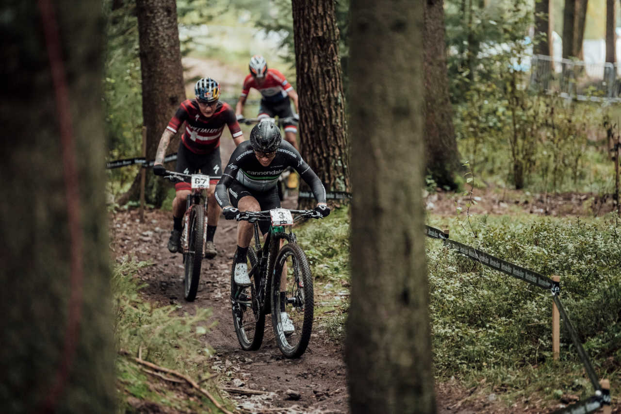 Maxime Marotte performs at UCI XCO in Nove Mesto na Morave, Czech Republic on October 1st, 2020 // Bartek Wolinski/Red Bull Content Pool // SI202010010815 // Usage for editorial use only //