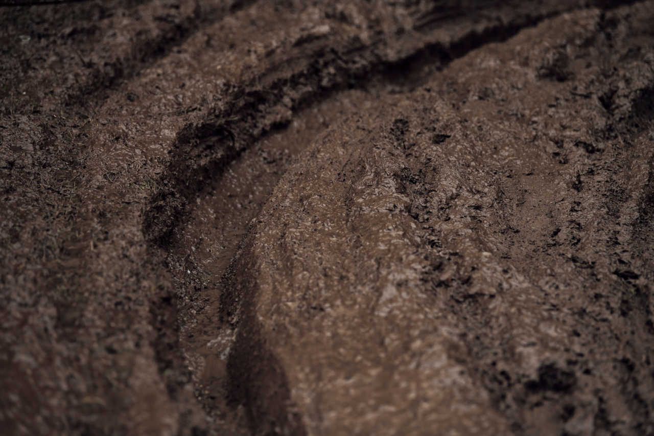Track at UCI DH World Championships in Leogang, Austria on October 11th, 2020 // Bartek Wolinski/Red Bull Content Pool // SI202010110693 // Usage for editorial use only //